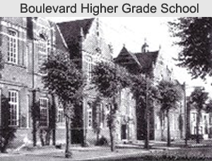 Boulevard Higher Grade School cira 1895